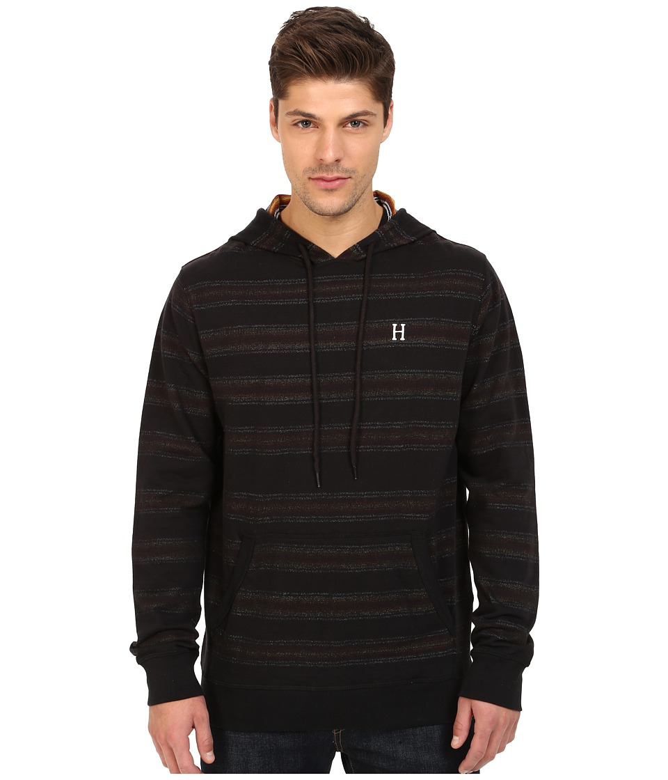 HUF - Serape Pullover Hoodie (Black) Men's Sweatshirt
