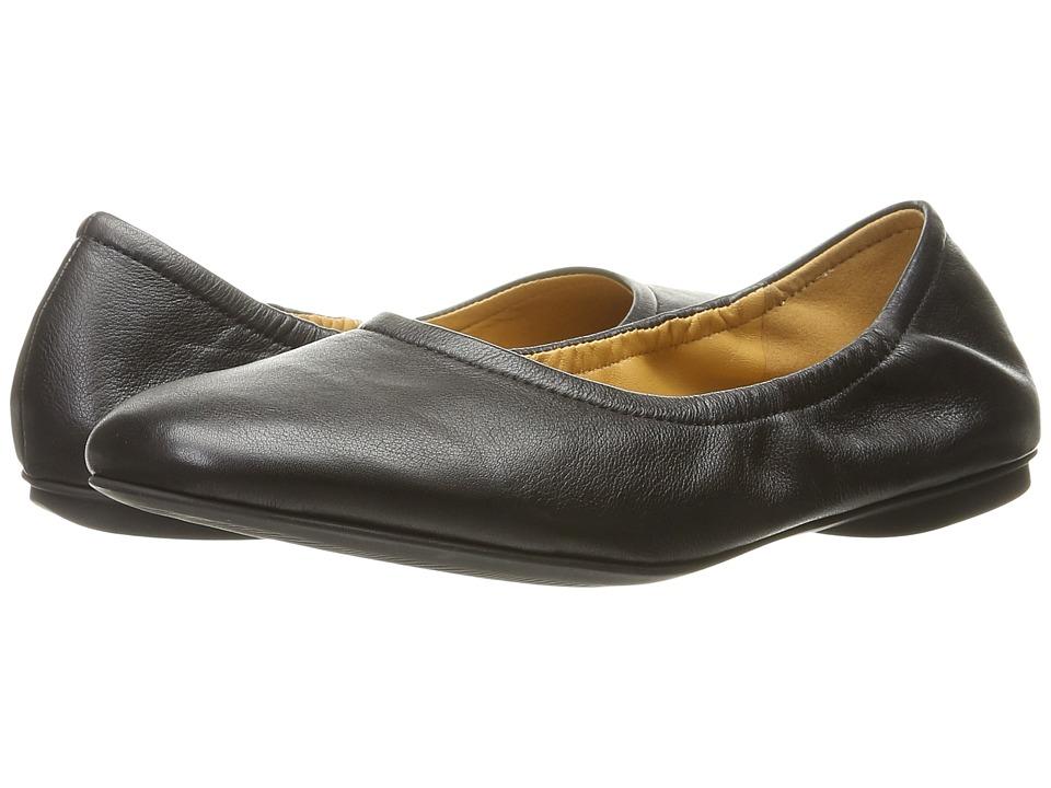 ECCO - Taisha Ballerina (Black) Women's Slip on Shoes