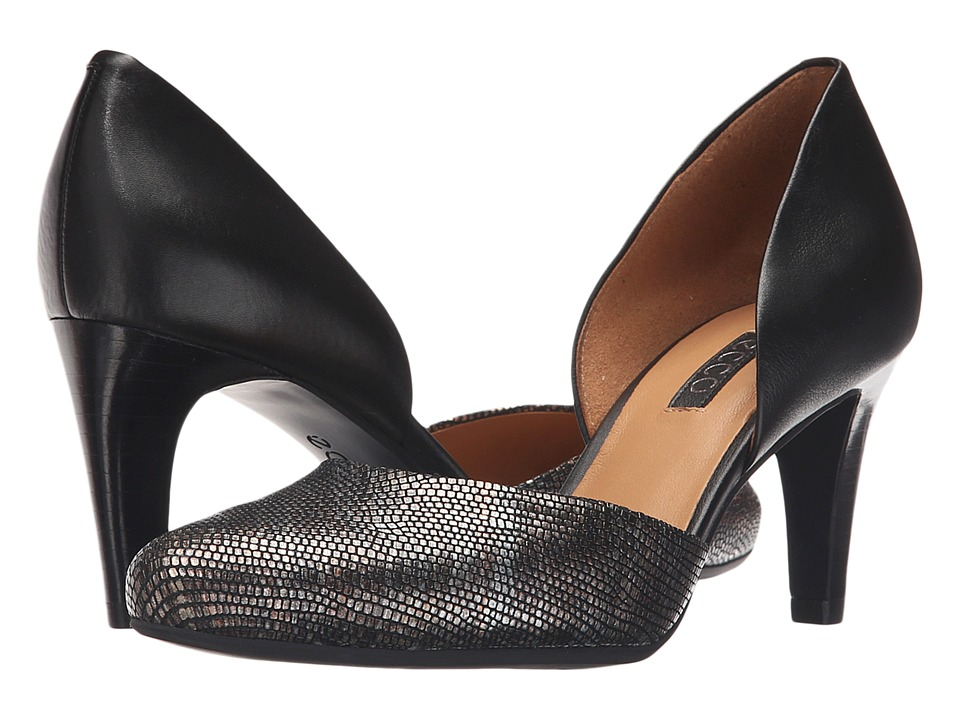 ECCO Alicante (Black/Multi Metallic/Black) High Heels