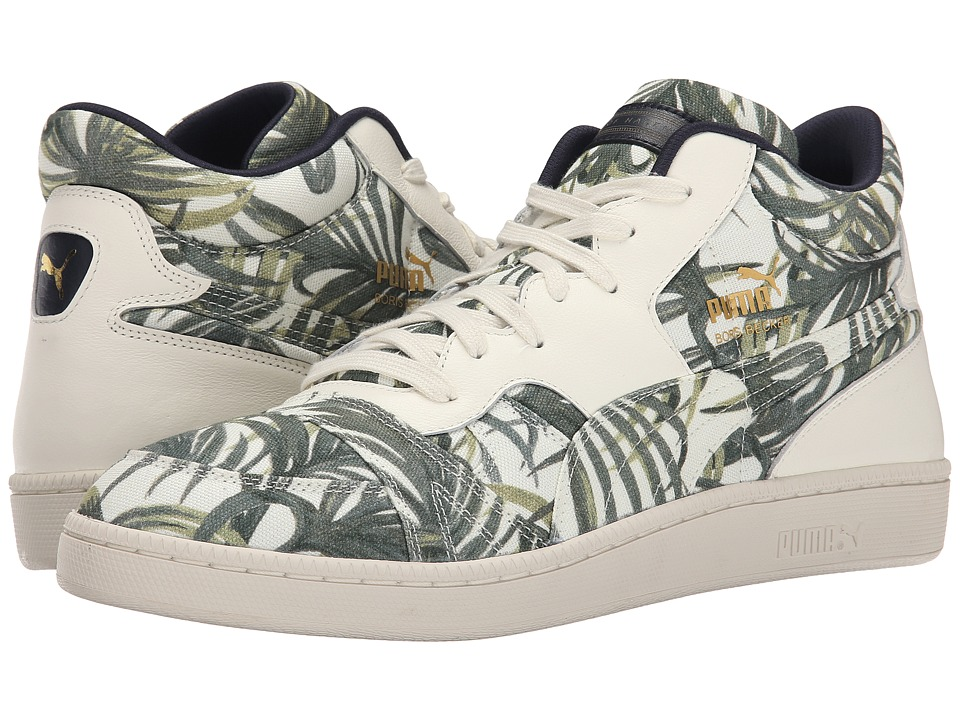 PUMA - Becker X House of Hackney (White/Green Fern) Men's Shoes