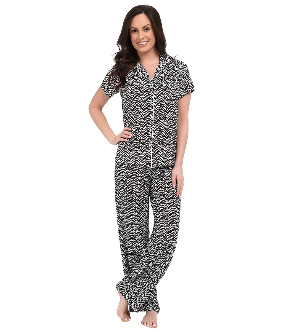Splendid - Voile PJ Set (Sketchy Scallop) Women's Pajama Sets
