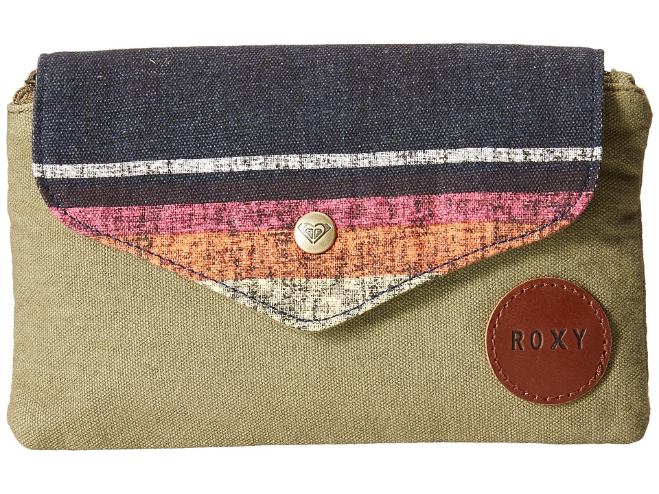 Roxy - Cook Out Wallet (Military Olive) Bill-fold Wallet