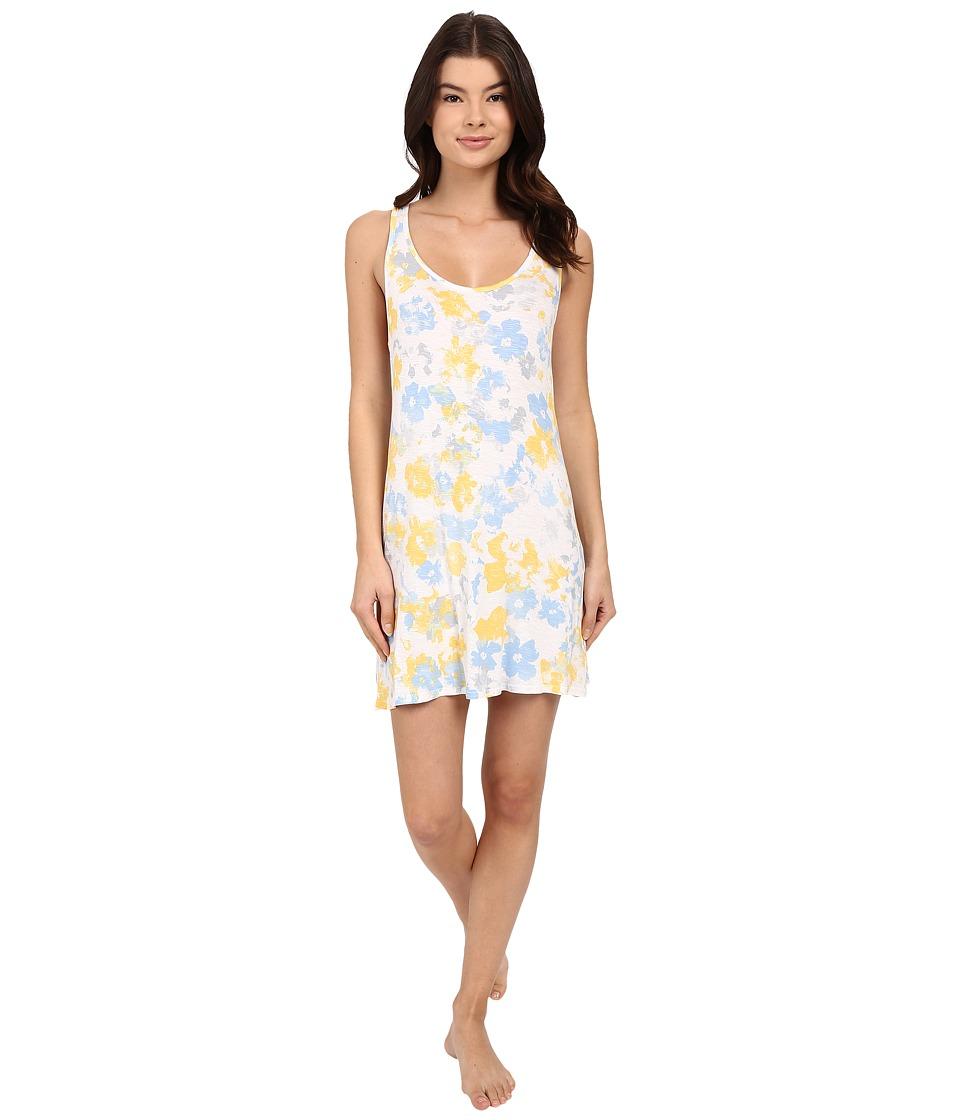 Splendid - Racerback Chemise (Sunshine Floral) Women's Pajama
