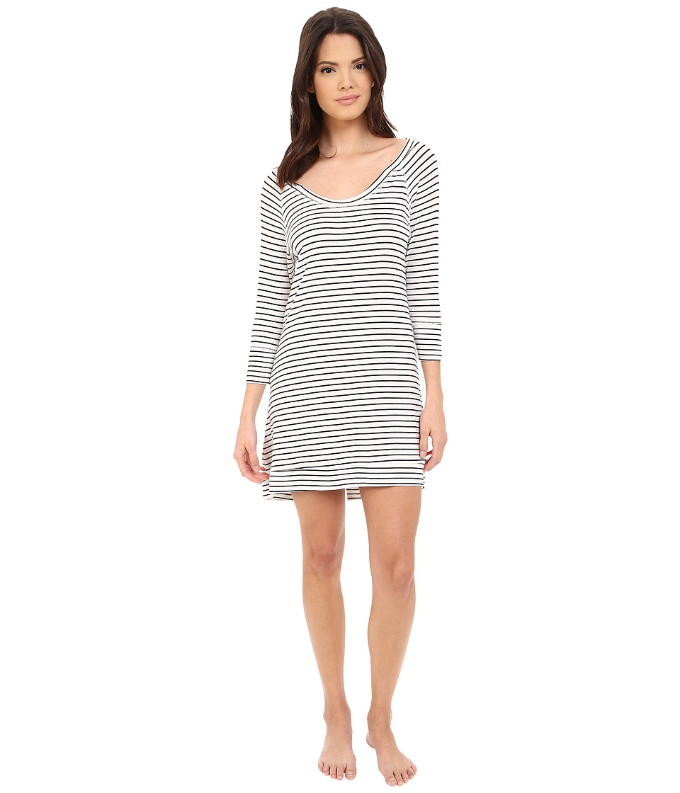 Splendid - Split-Hem Sleepshirt (Spring Stripe) Women