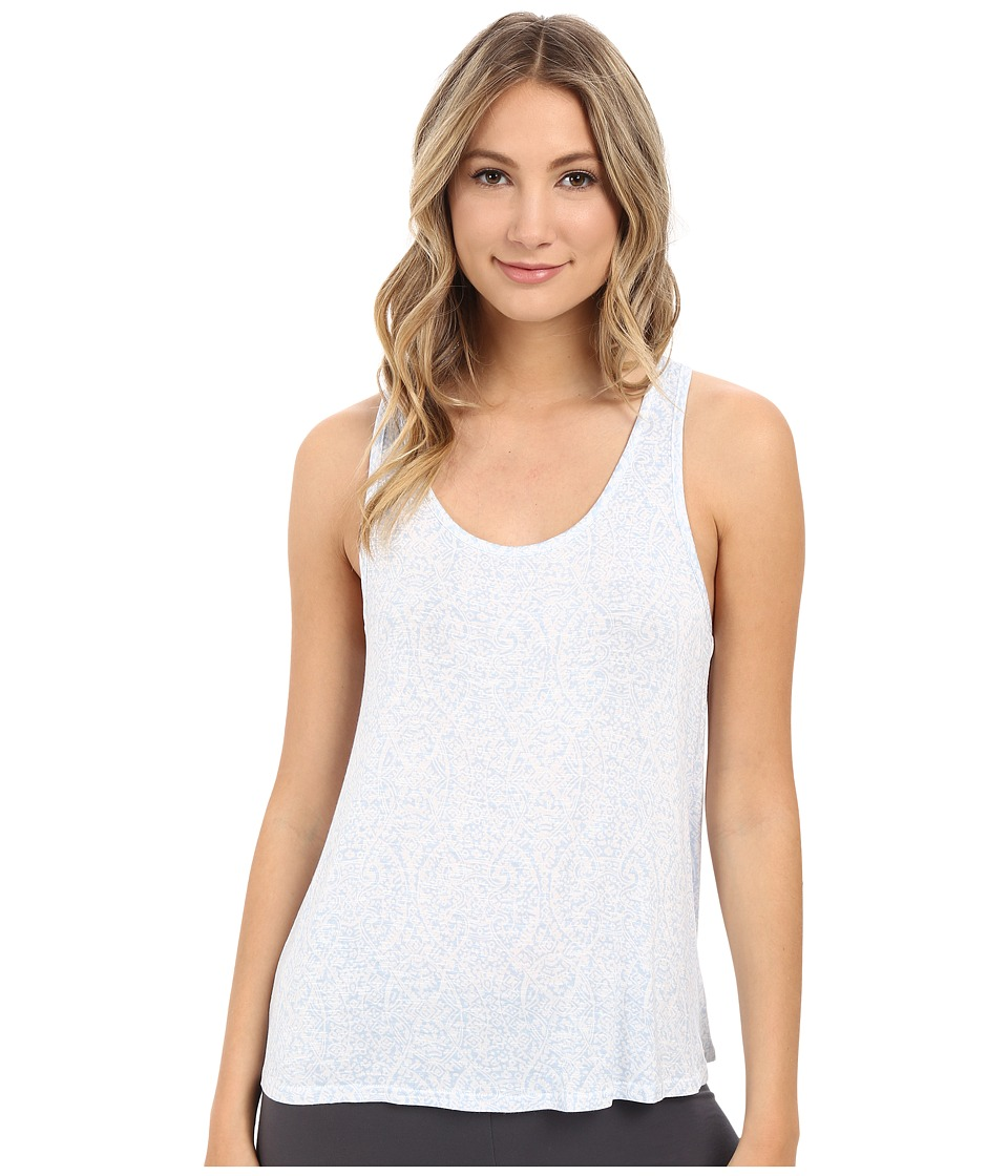 Splendid - Slub Racerback Tank Top (Blue Marrakesh) Women's Pajama