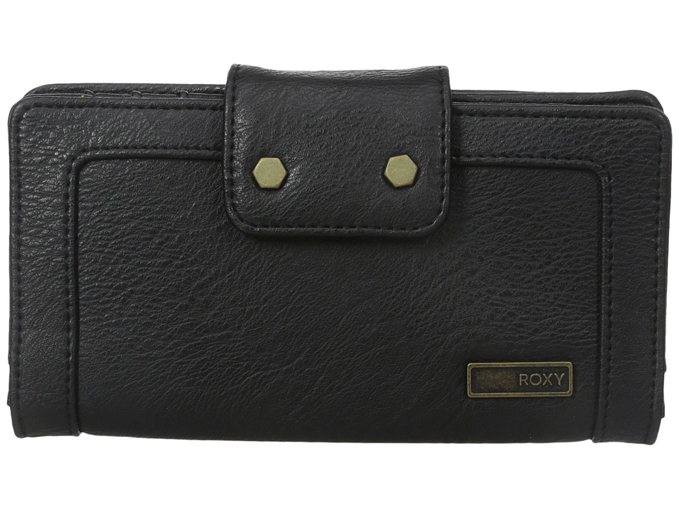 Roxy - Sage Cove Bi-Fold Wallet (True Black) Bi-fold Wallet