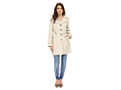 Calvin Klein Calvin Klein - Single Breasted Hooded Belted Trench w/ Printed Liner