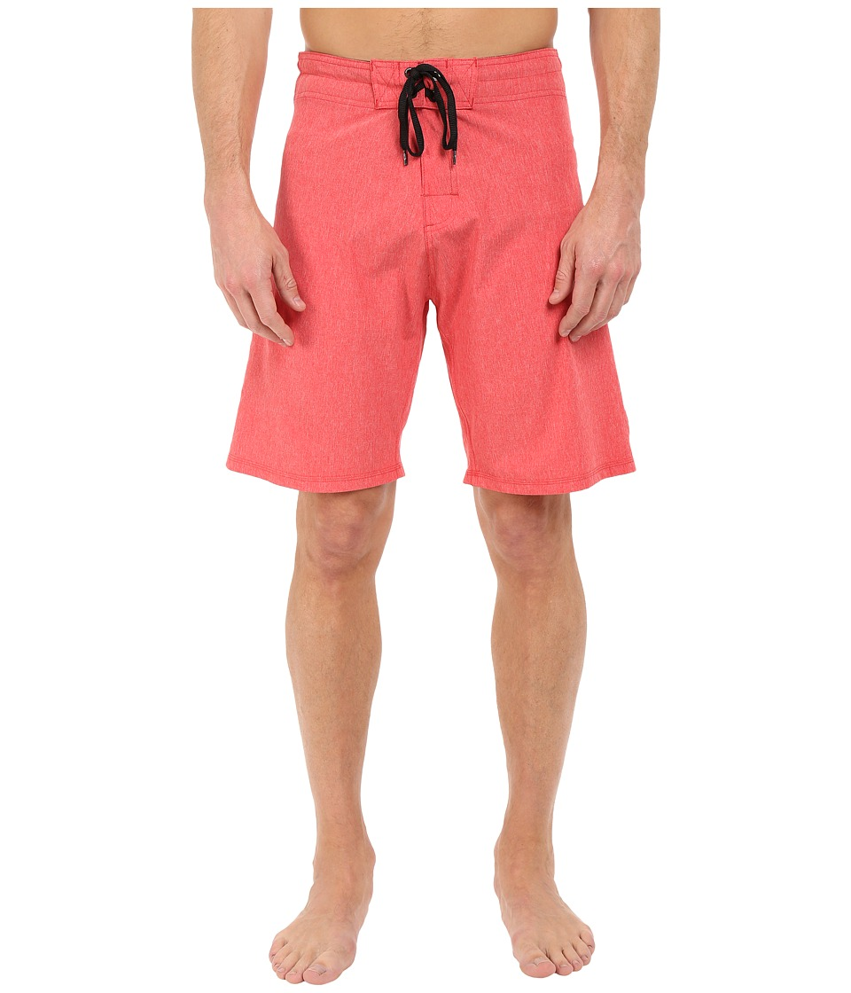 Body Glove - Vaporskin It's Zupper Boardshort (Red Heather) Men's Swimwear