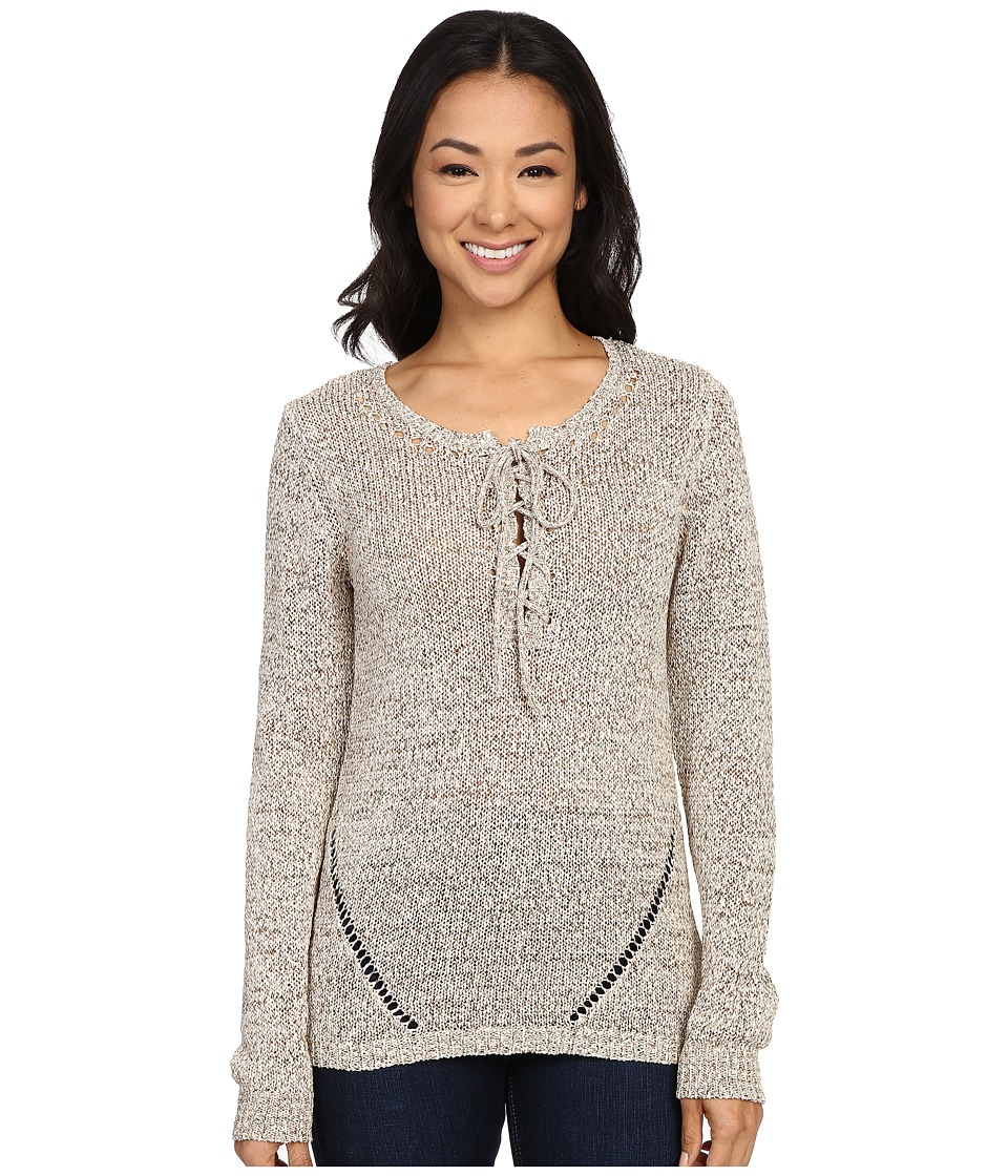 B Collection by Bobeau - Caty Tapeyarn Pullover (Multi) Women's Sweater