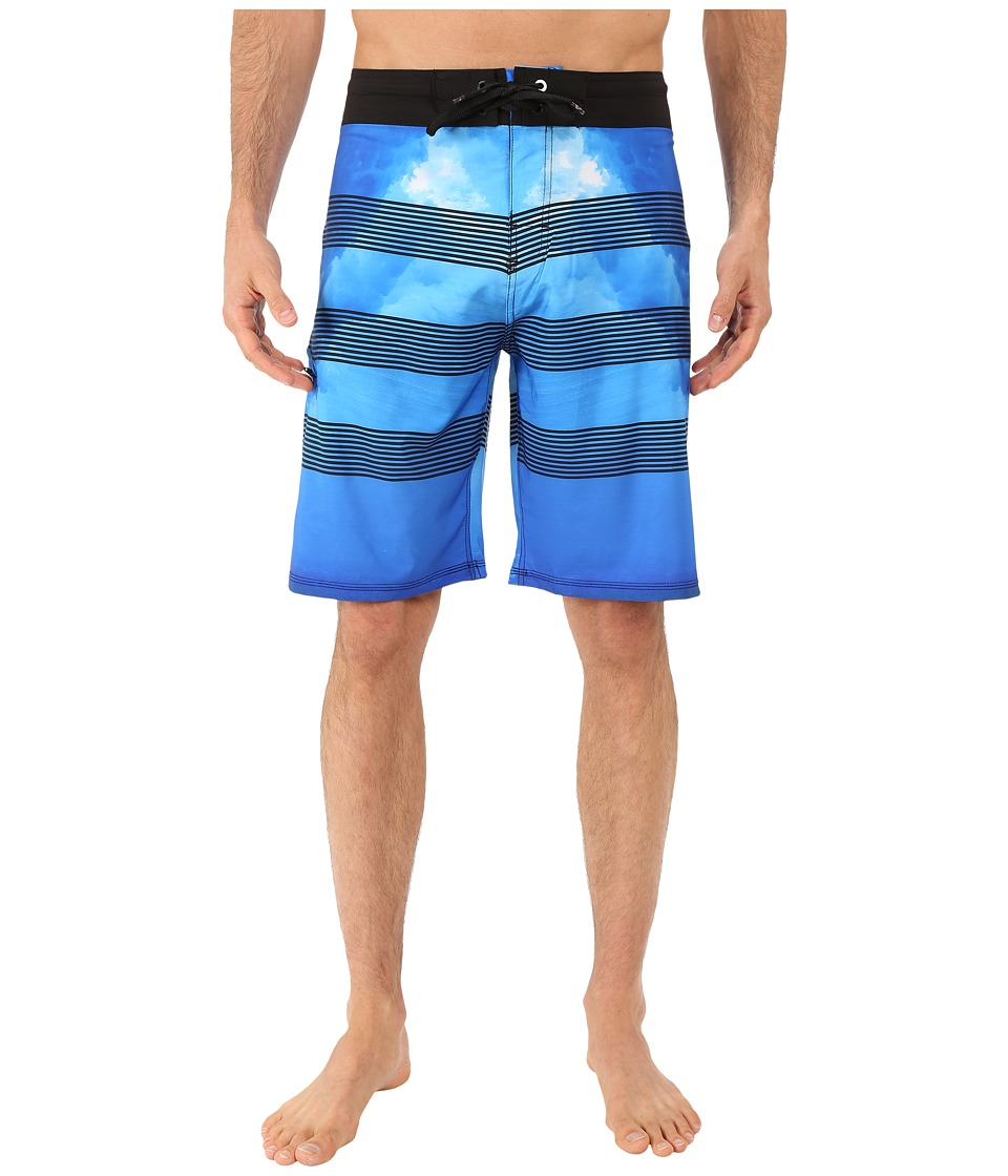 Body Glove - Vaporskin Abyss Boardshorts (Blue) Men's Swimwear