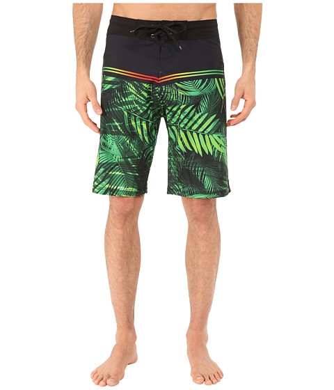 Body Glove - Vaporskin Predator Boardshorts (Army Green) Men