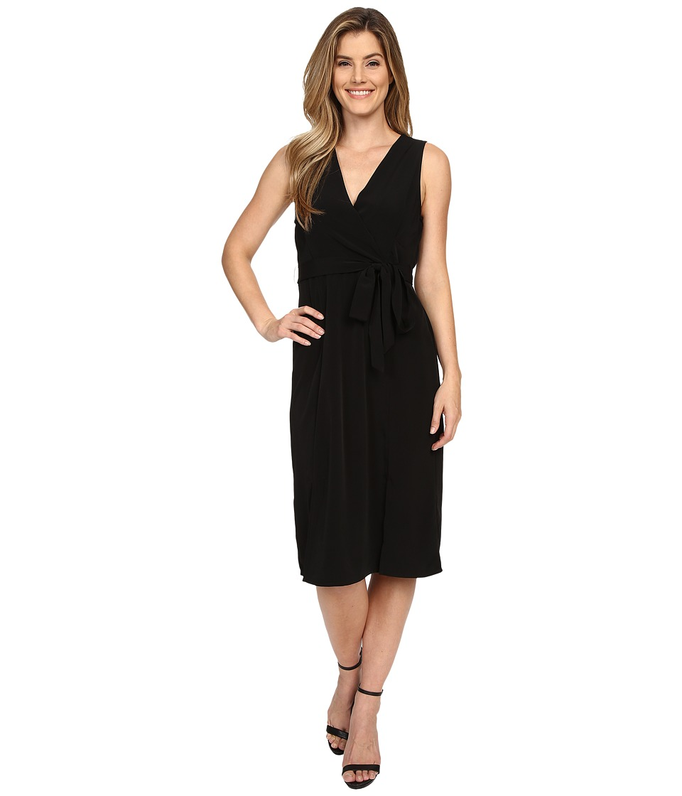 B Collection by Bobeau - Kate Wrap Dress (Black) Women's Dress
