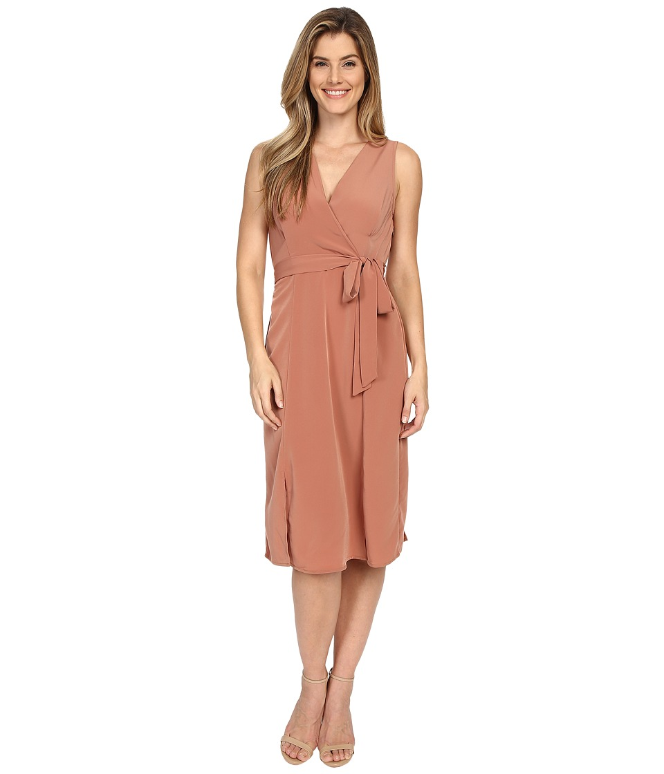 B Collection by Bobeau - Kate Wrap Dress (Vintage Rust) Women's Dress