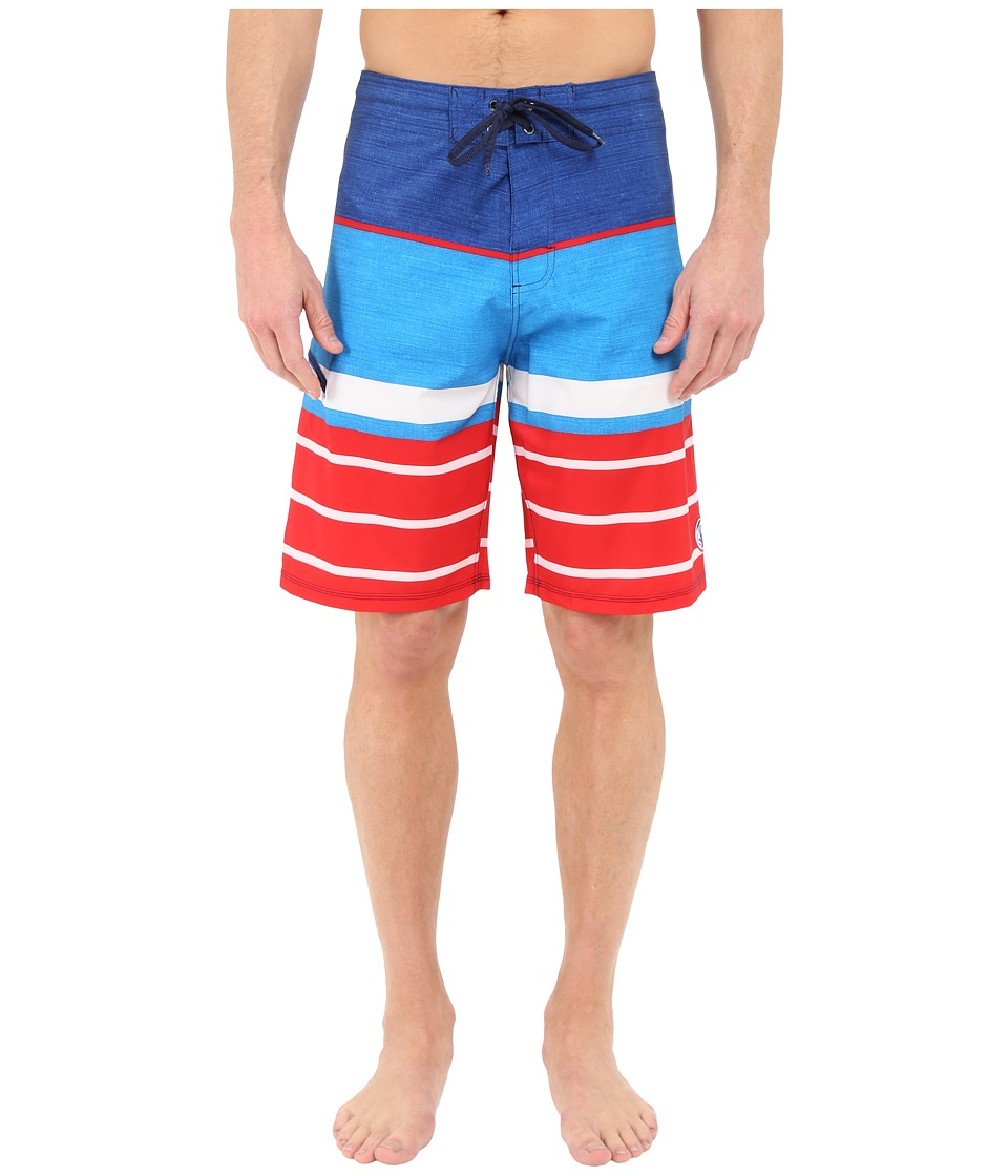 Body Glove - Vaporskin Bulldog Boardshorts (Indigo) Men's Swimwear
