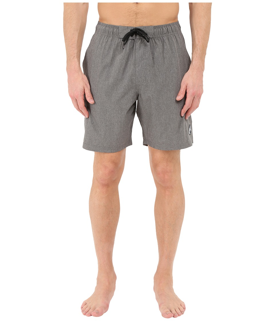 Body Glove - Vaporskin Trainer Boardshorts (Charcoal Heather) Men's Swimwear