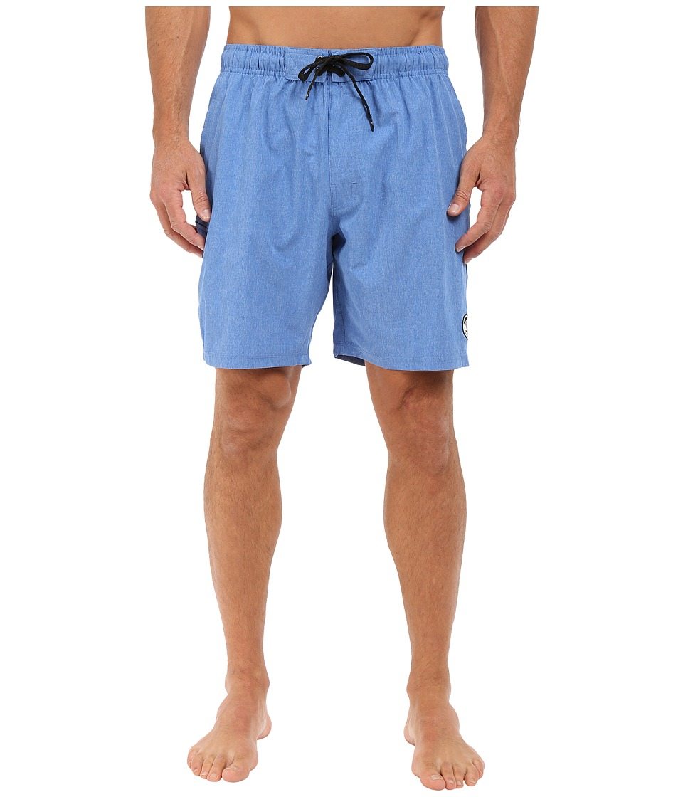 Body Glove - Vaporskin Trainer Boardshorts (Royal Heather) Men's Swimwear