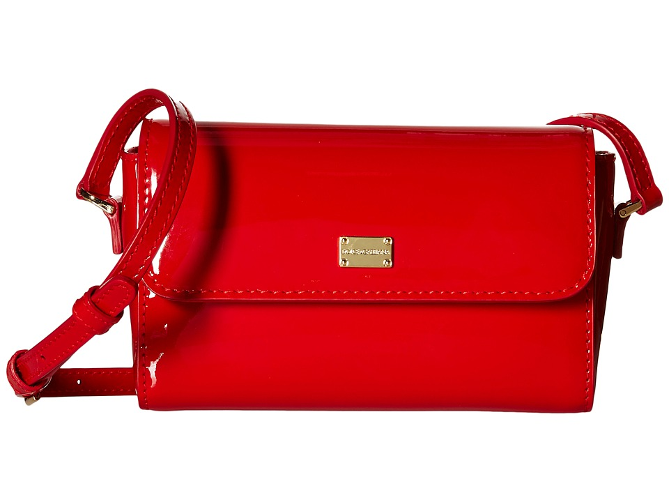 Dolce & Gabbana Kids - Patent Leather Handbag (Little Kids/Big Kids) (Red) Handbags