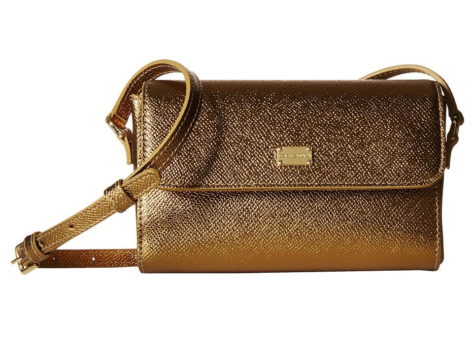 Dolce & Gabbana Kids - Dauphine Handbag (Little Kids/Big Kids) (Gold) Handbags