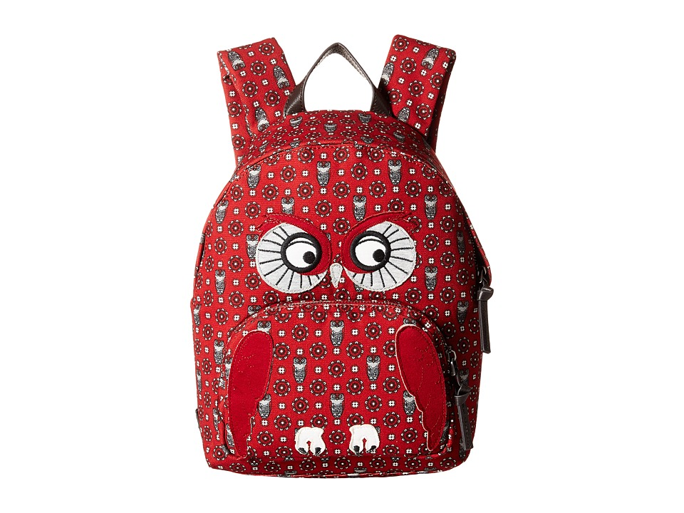 Dolce & Gabbana Kids - Owl Backpack (Little Kids/Big Kids) (Red) Backpack Bags