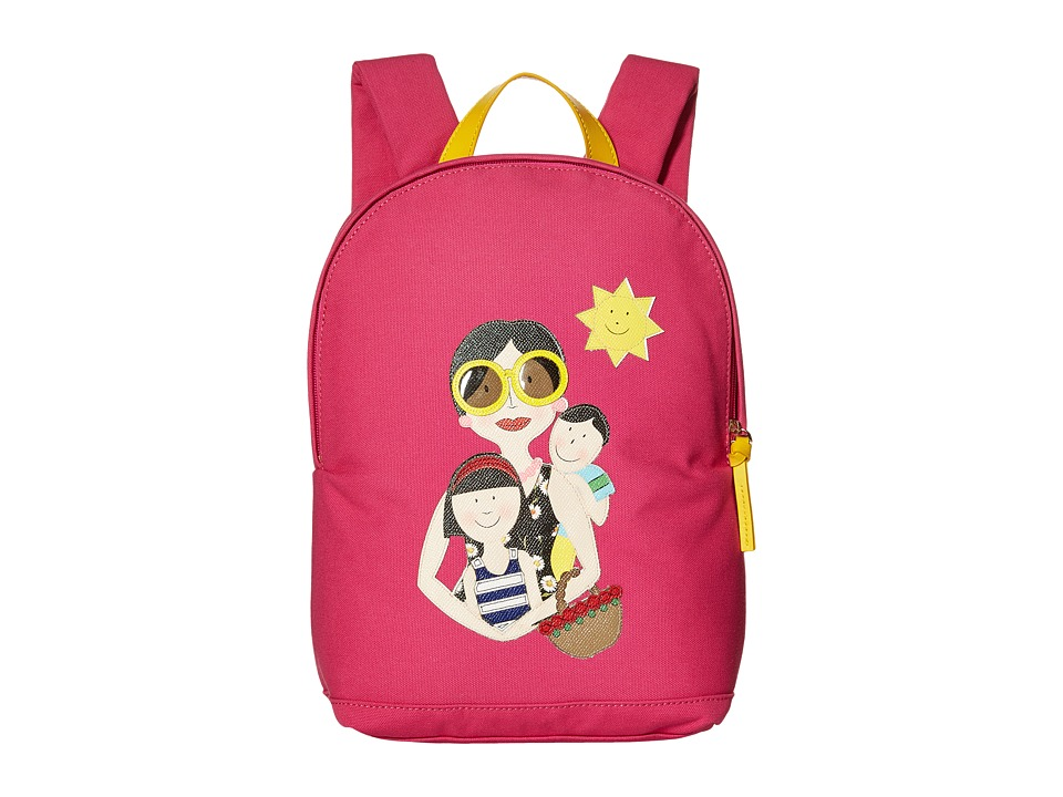 Dolce & Gabbana Kids - Familia Backpack (Little Kids/Big Kids) (Fuchsia) Backpack Bags