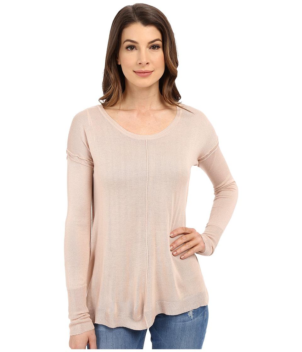 B Collection by Bobeau - June Lightweight Sweater (Dusty Blush) Women's Sweater