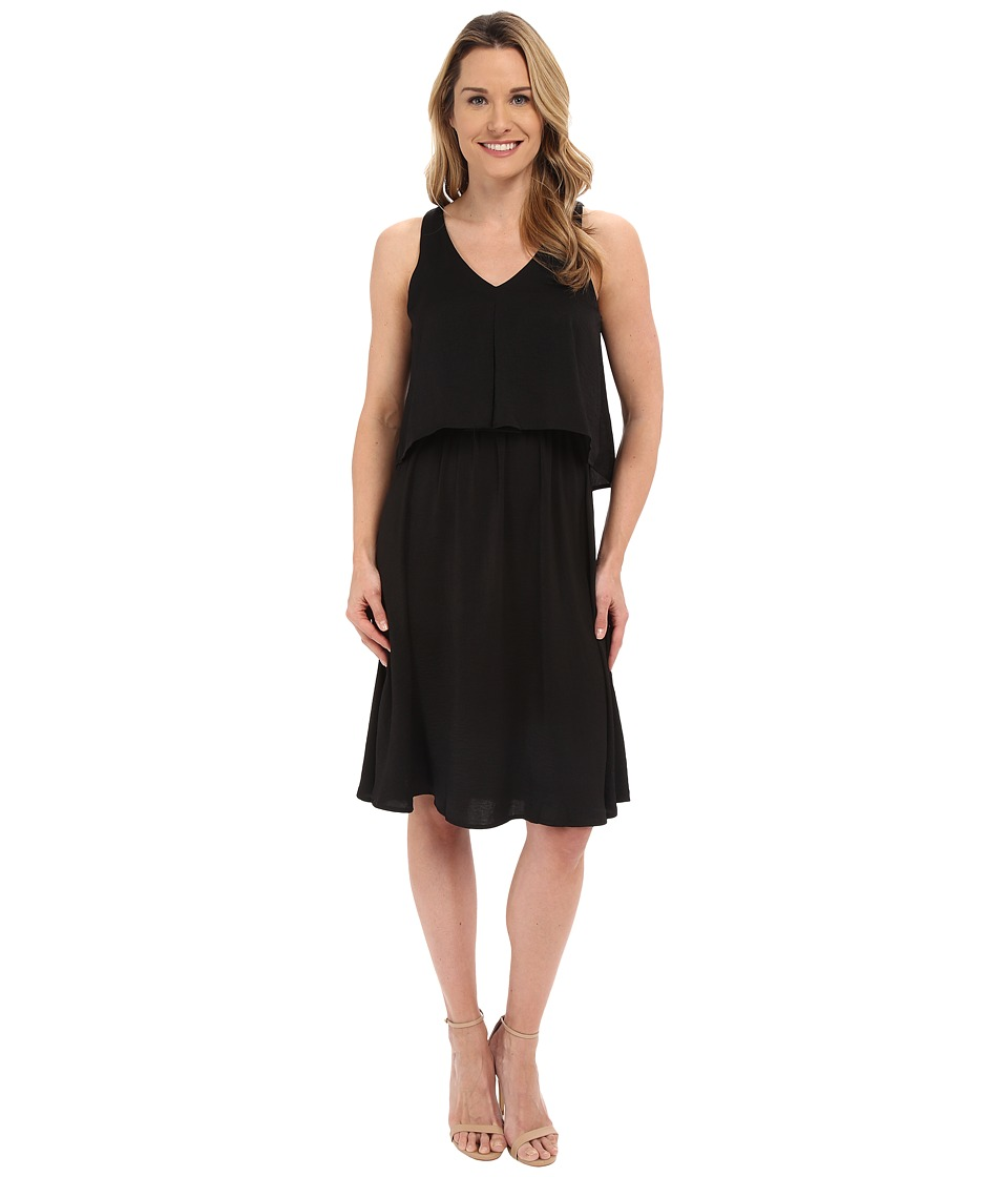 B Collection by Bobeau - Chelsea Layer Tank Dress (Black) Women's Dress