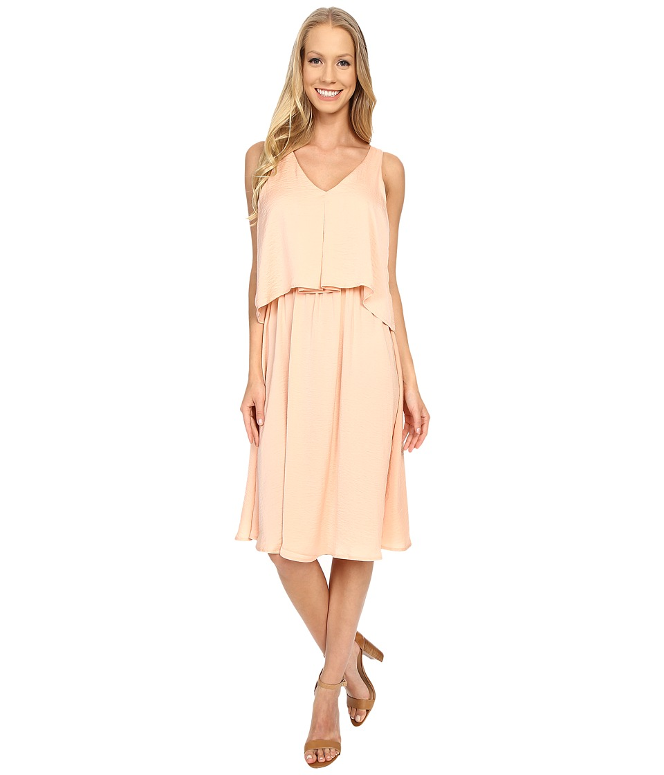 B Collection by Bobeau - Chelsea Layer Tank Dress (Dusty Peach) Women's Dress