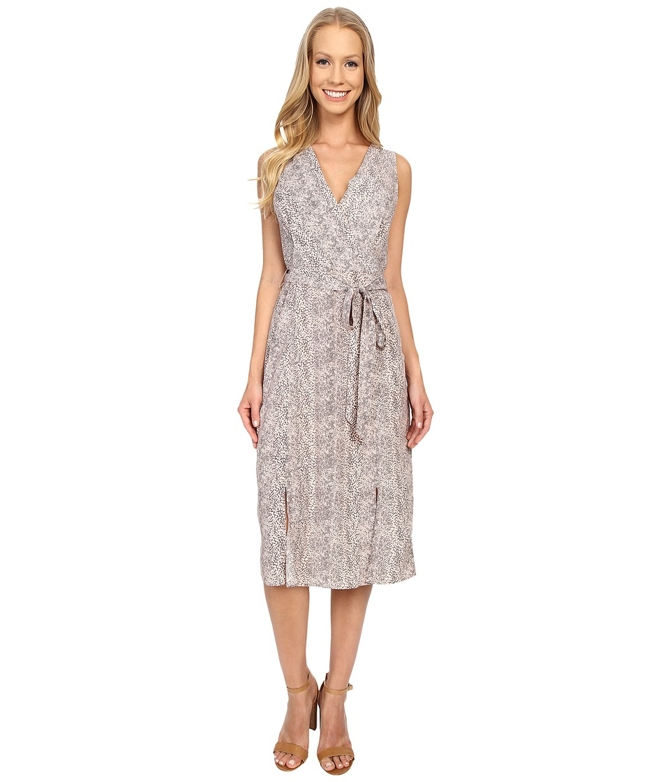B Collection by Bobeau - Kate Wrap Dress (Pink Snake) Women's Dress