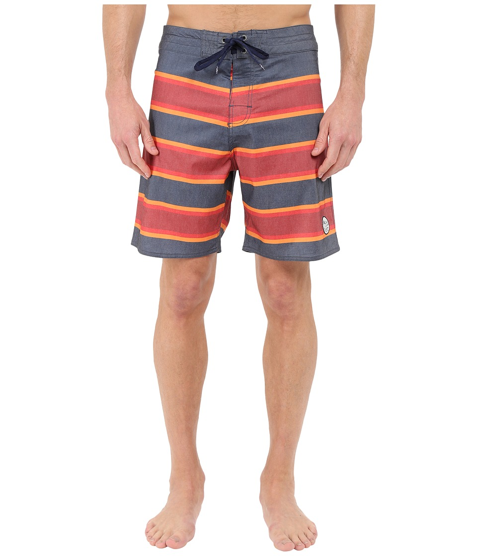 Body Glove - Fairlane Boardshorts (Indigo) Men's Swimwear