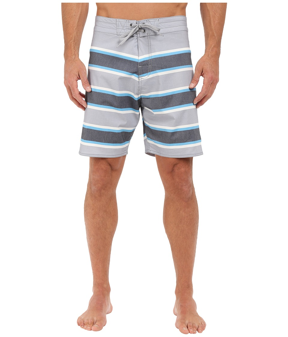 Body Glove - Fairlane Boardshorts (Grey) Men's Swimwear