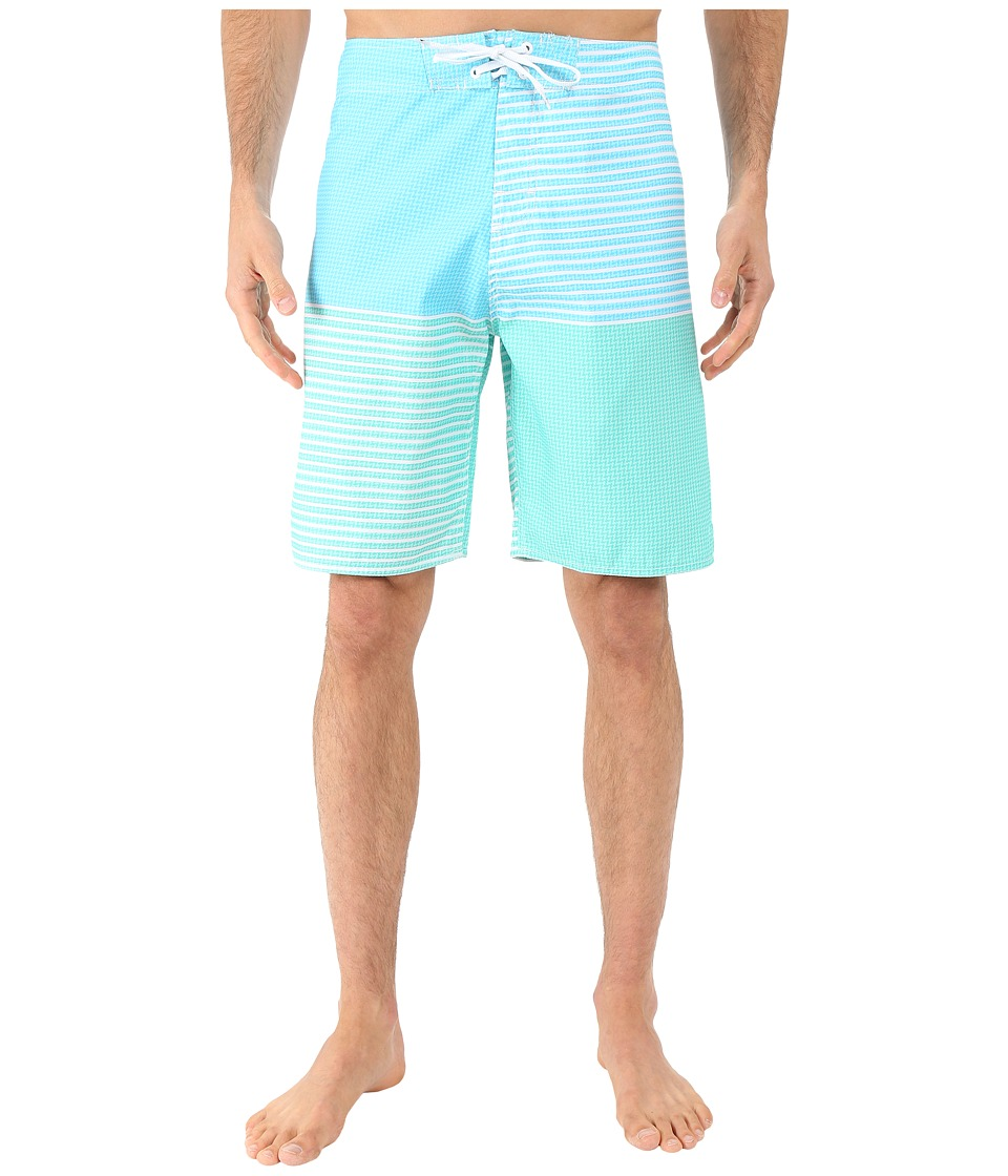 Body Glove - Back Yard Boardshorts (Ice Blue) Men's Swimwear