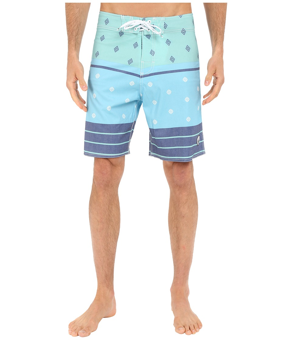 Body Glove - Hootie Boardshorts (Blue) Men's Swimwear