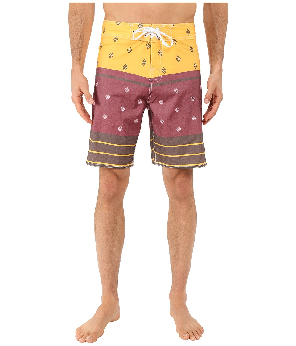Body Glove - Hootie Boardshorts (Brown) Men's Swimwear