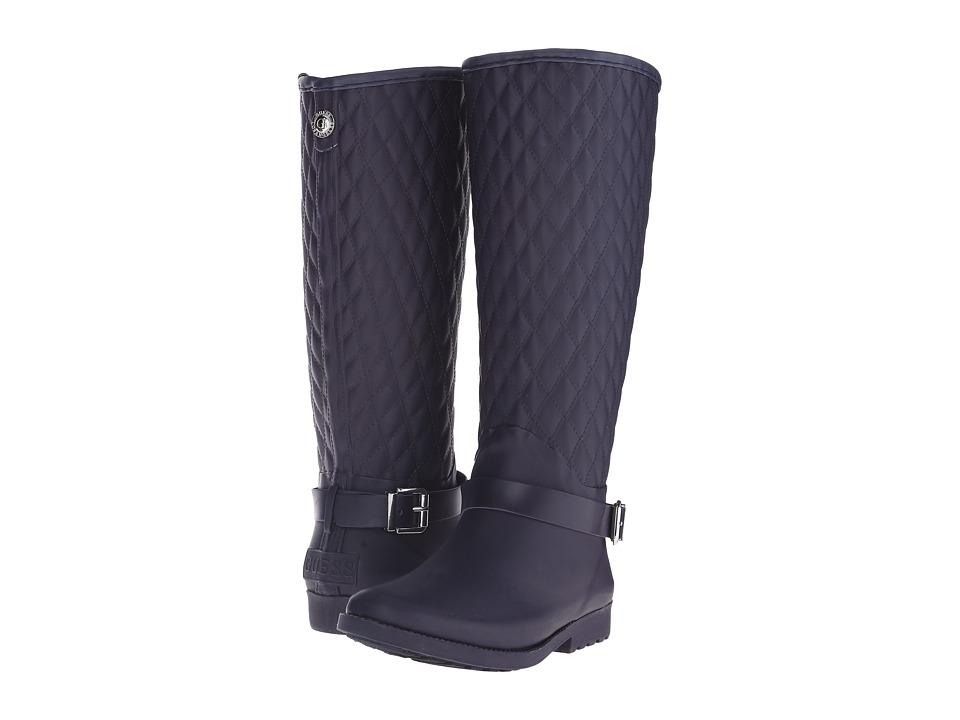 GUESS - Lulue (Dark Blue) Women's Pull-on Boots