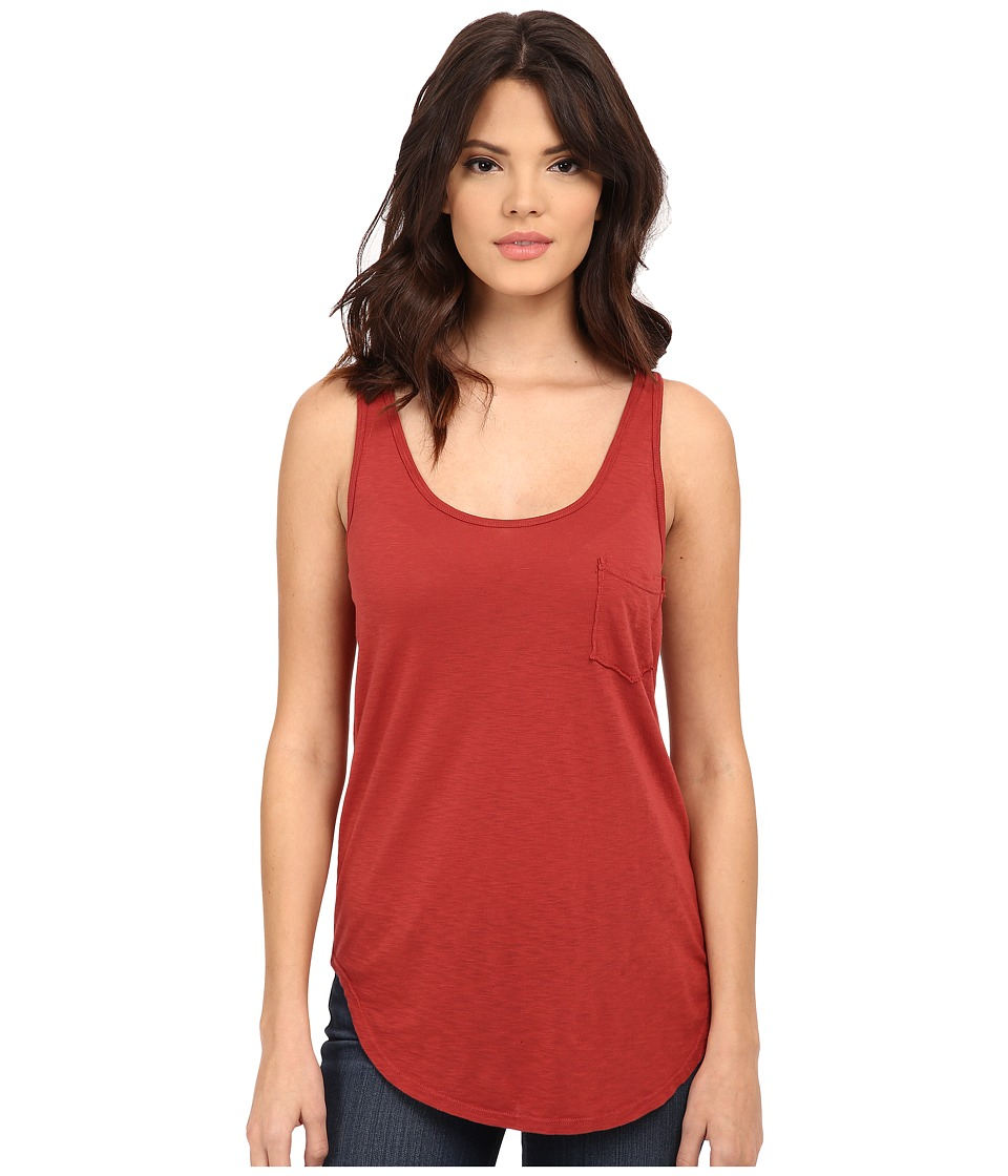 LAmade - Boyfriend Tank w/ Pocket (Cadenza) Women's Sleeveless