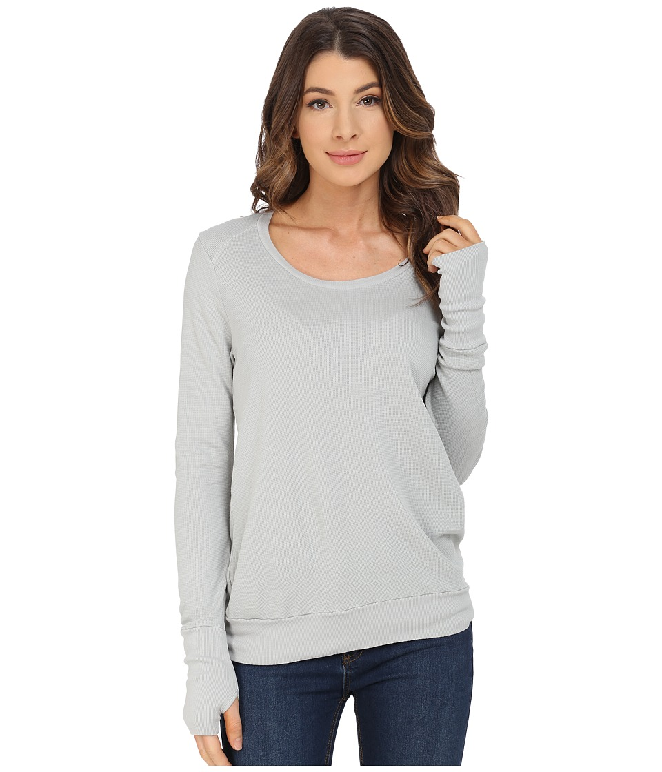 LAmade - Thermal Top With Thumbholes (Salvia) Women's Sweater