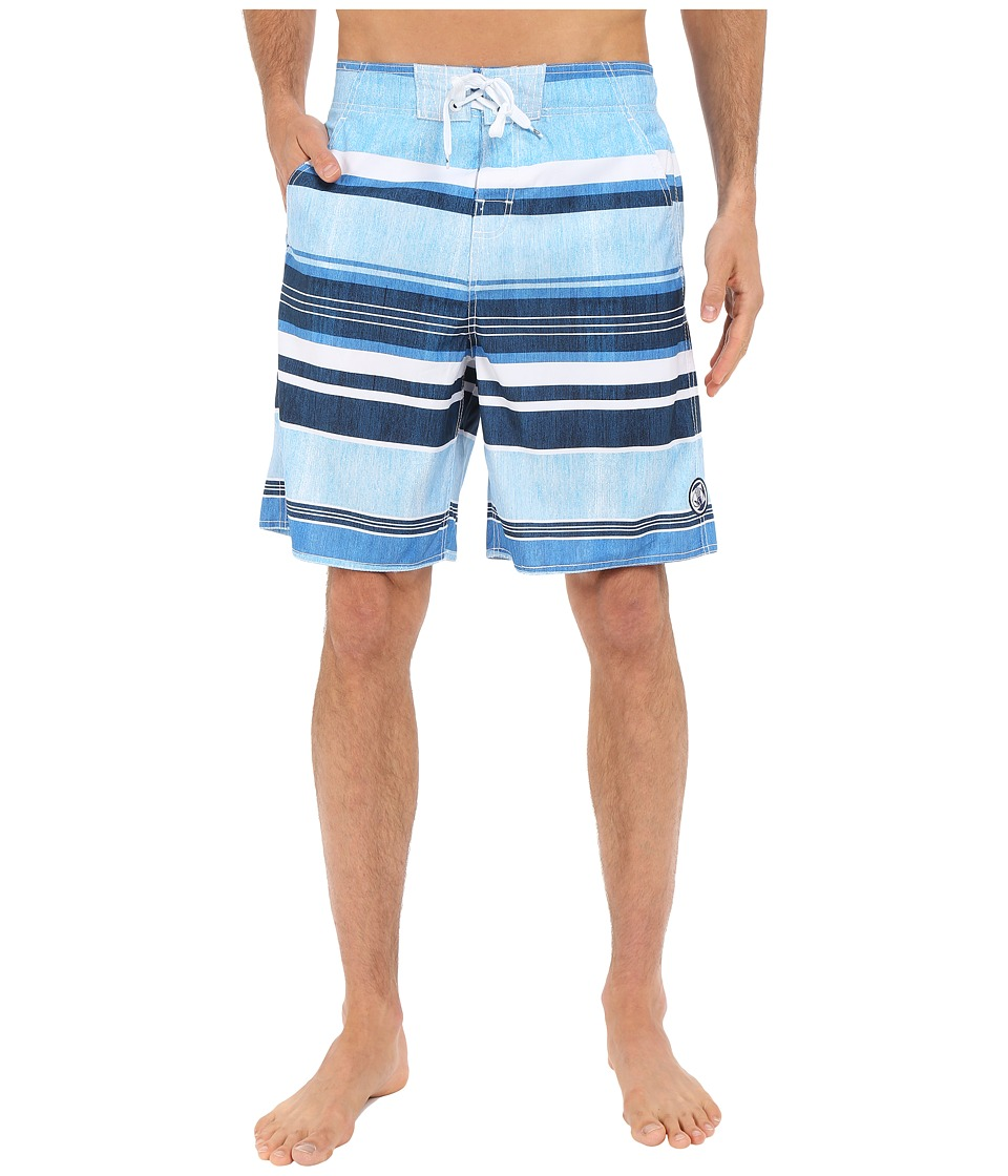 Body Glove - Mr. Easy V-Boardshorts (Blue) Men's Swimwear
