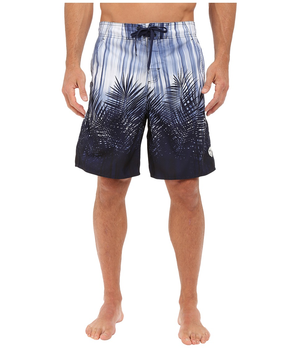 Body Glove - Ferndale V-Boardshorts (Indigo) Men's Swimwear