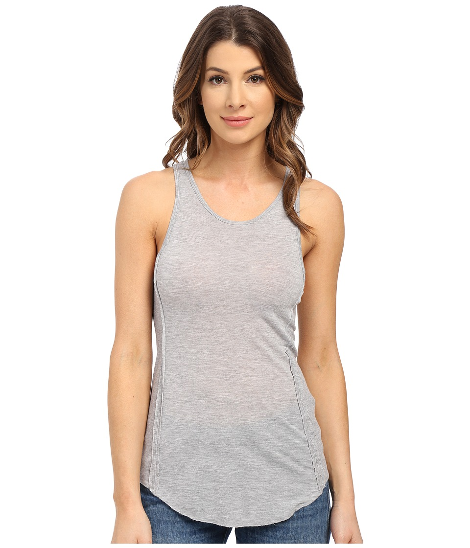 LAmade - Uno Tank Top (Heather Grey) Women's Sleeveless