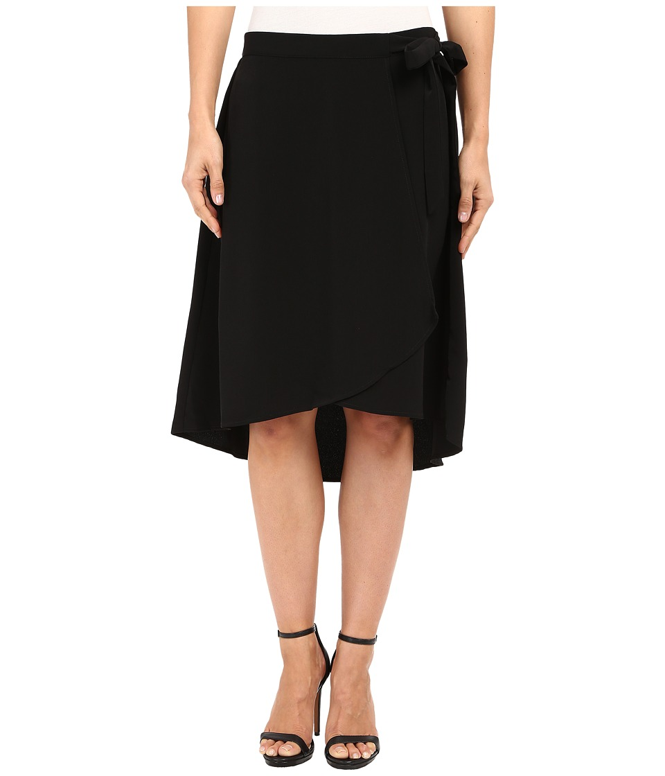 B Collection by Bobeau - Johan Wrap Skirt (Black) Women's Skirt