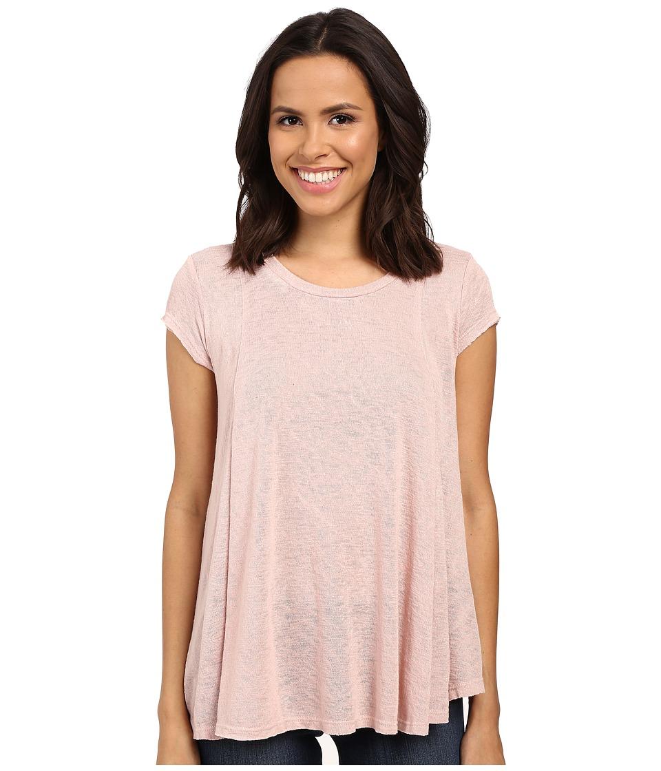 B Collection by Bobeau - Posy Swing Knit T-Shirt (Pink) Women's T Shirt