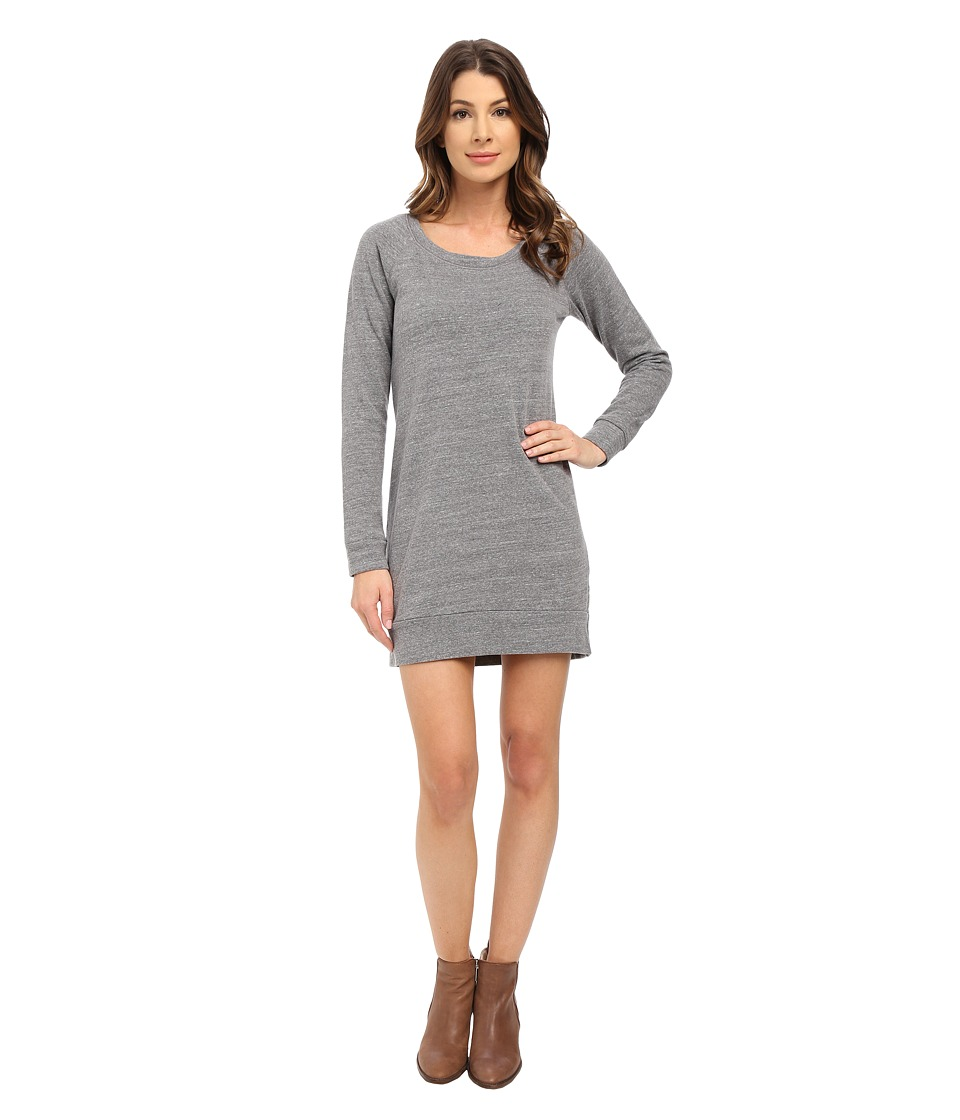 Splendid - Sweatshirt Dress (Heather Grey) Women