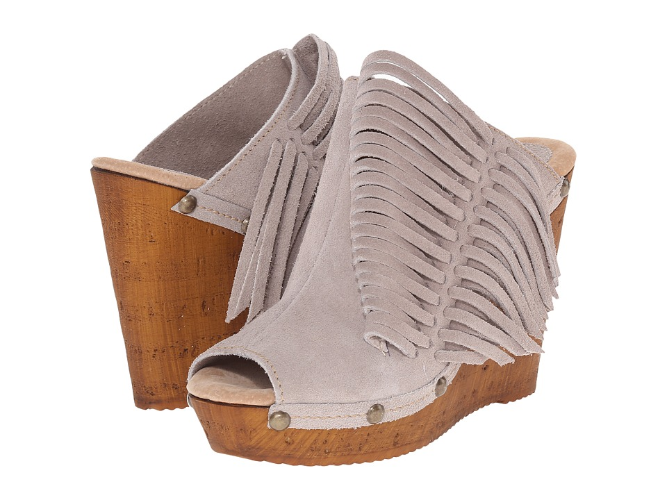 Sbicca - Pitch (Stone) Women's Wedge Shoes