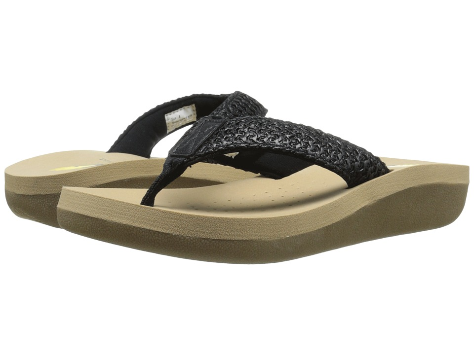 VOLATILE - Surf (Black) Women's Sandals