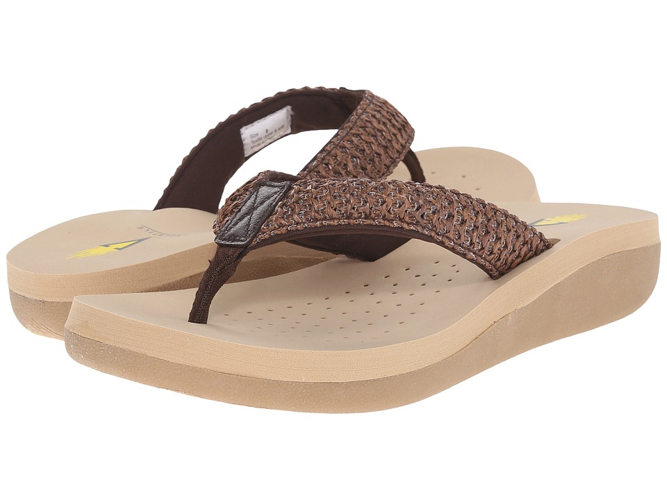 VOLATILE - Surf (Brown) Women's Sandals