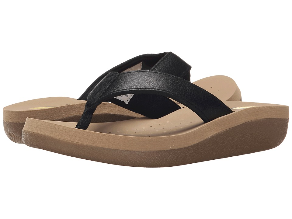 VOLATILE - Cas (Black) Women's Sandals