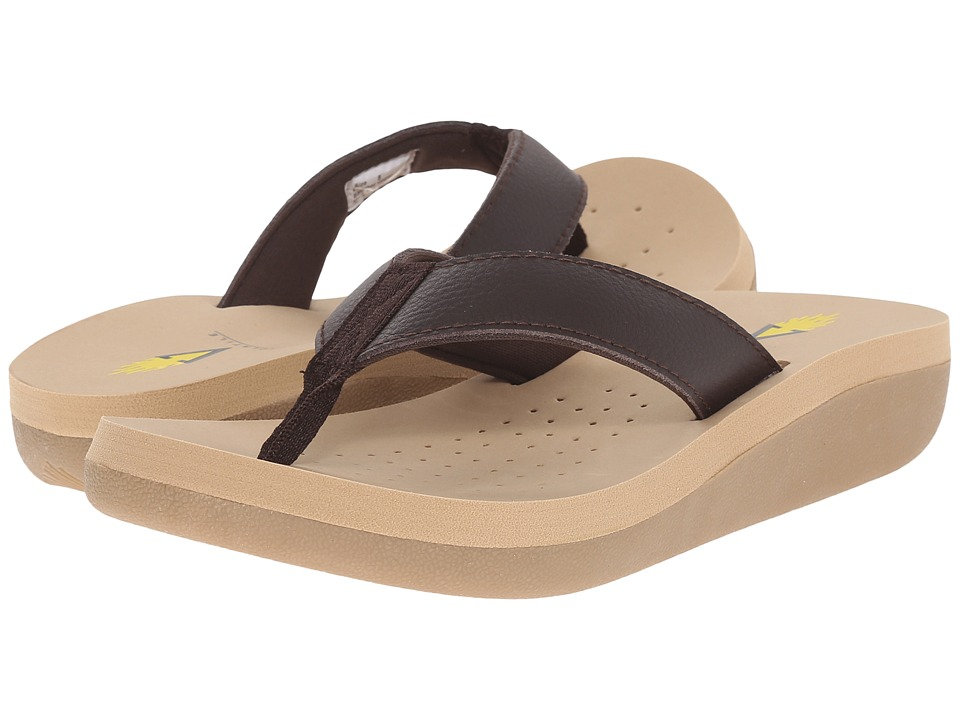VOLATILE - Cas (Brown) Women's Sandals