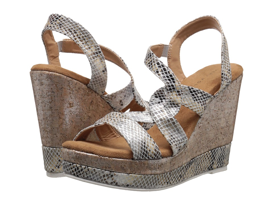 VOLATILE - Katie (Silver) Women's Wedge Shoes