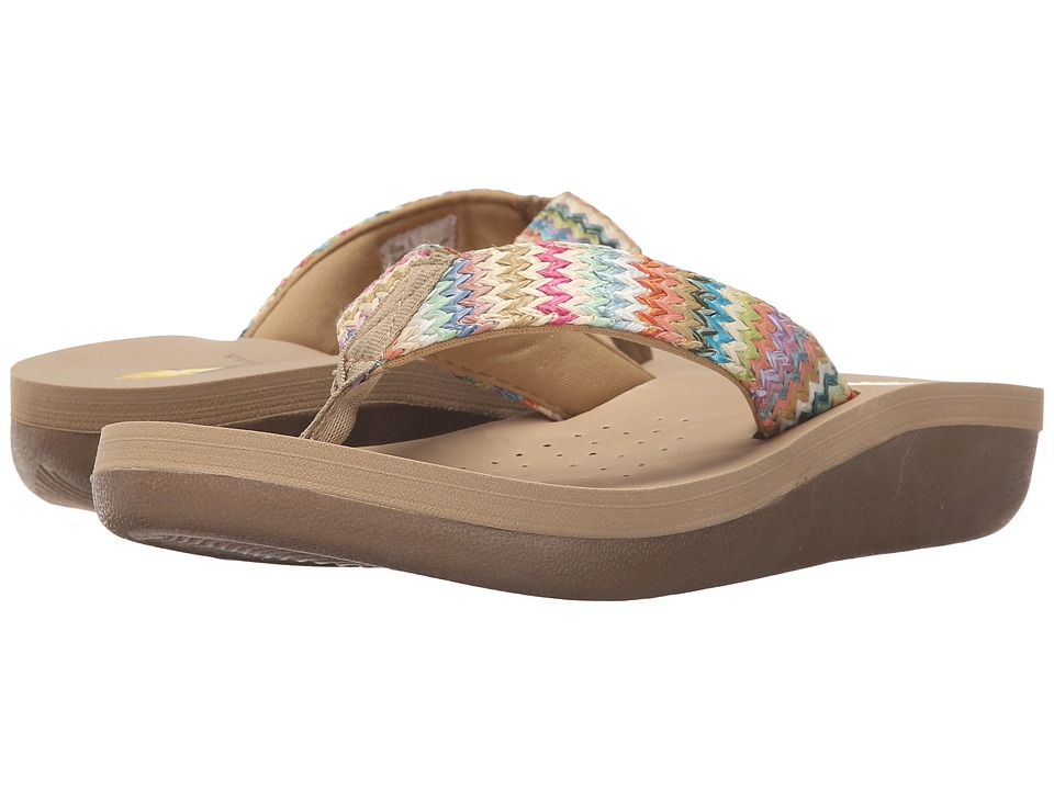 VOLATILE - Villas (Natural) Women's Sandals