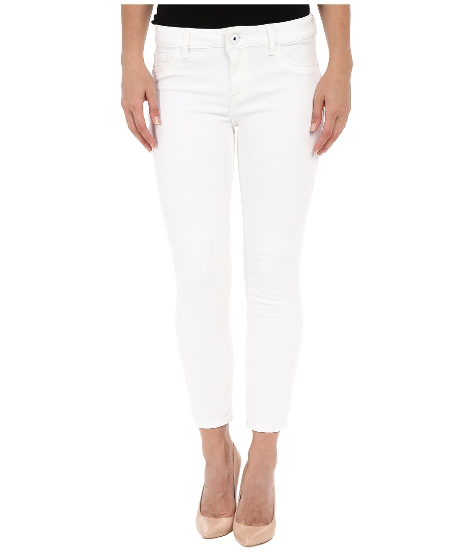 DL1961 - Florence Crop in Porcelain (Porcelain) Women's Jeans